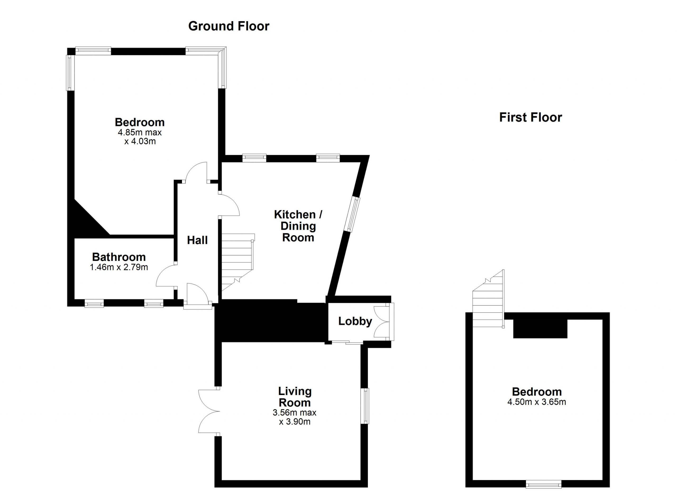 Gate Lodge Floorplan